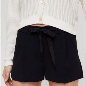 Wilfred Tie-Front Short Black